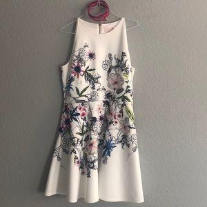 NWOT Ted Baker Floral Dress w/ belt